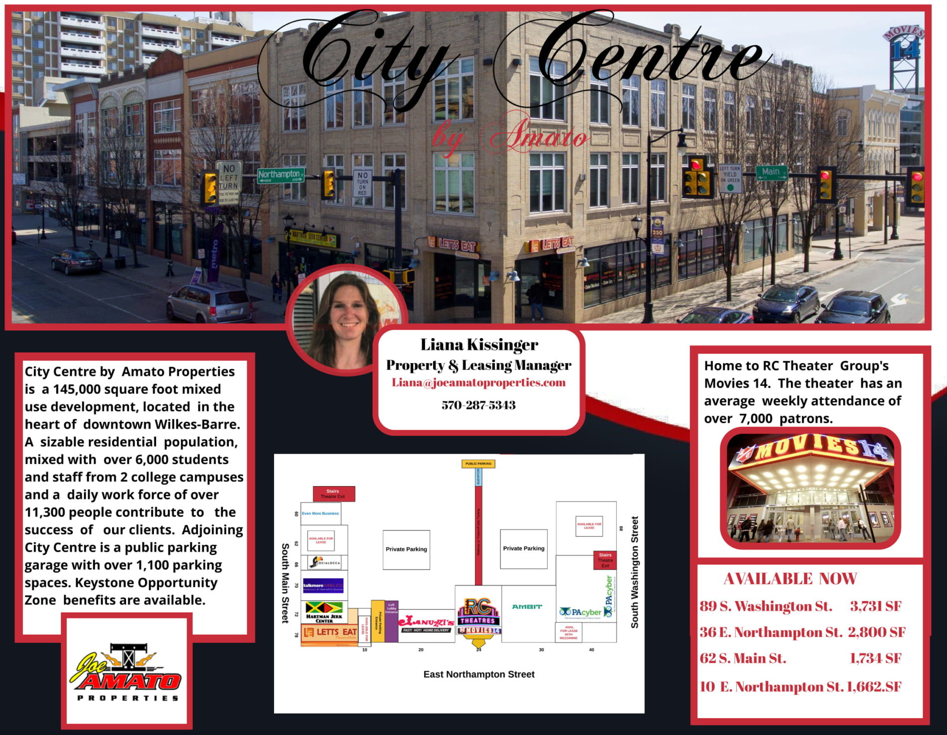 City Centre Marketing Brochure